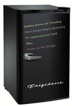 Frigidaire 3 2 Cu Ft Retro Eraser Board Mini Fridge  Black