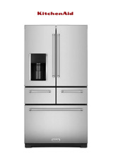 Kitchenaid  KRMF606ESS  French Door Refrigerator