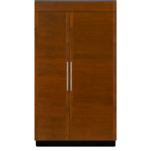 JENN AIR 48  BUILT IN SIDE BY SIDE REFRIGERATOR Panel ready Counter JS48NXFXDE