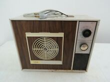 Sunbeam Portable Clothes Dryer Electric Tumble Dry 1960s Vintage Spins