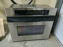 GE Profile JTP18SDSS 30  Wide Electric Single Convection Wall Oven with