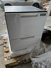 Fisher Paykel DD24DAW9N 24  White Double Drawer Dishwasher   NEW   Unused