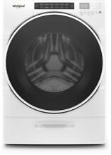 Whirlpool WFW6620HW 27  Front Load Washer with Load   Go  Dispenser Steam Clean