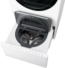 LG LUWD1CW Signature SideKick Pedestal Mini Washer   6 MO  OLD   REDUCED