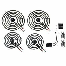 MP22YA Electric Range Burner Element Unit Set 2  MP15YA 6  2  MP21YA 8