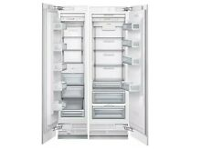Thermador Freedom Built In Full Refrigerator Freezer Columns Custom Panel Handle