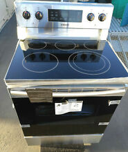 Samsung 30  Electric Range OVEN STOVE 5 Smoothtop Heating Elements Stainless