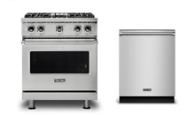 Viking Professional 30  Gas Range   FREE Dishwasher   VGR5304BSS