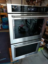 KitchenAid 30  Double Electric Convection Wall Oven Stainless steel KODE500ESS