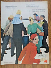 1956 Westinghouse Kitchen Appliance Ad Refrigerator Choose n Change Colors