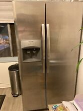 Frigidaire side by side Refrigerator  Gently used