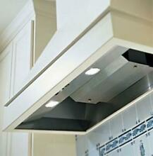 Vent A Hood BH240SLD 42 Inch BHSLD 600 CFM Wall Mounted Liner   Stainless Steel