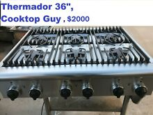 Thermador 36  Stainless Gas Rangetop  6 or 4   griddle  in Los Angeles