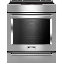 KitchenAid KSIB900ESS Stainless Steel Slide In Electric Induction Range