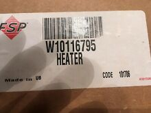 MAYTAG DRYER  HEATING ELEMENT PART  W10116795
