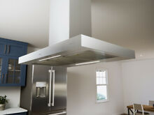 Zephyr ZRM E36DS Roma 36  Island Mount Chimney Hood ICON Touch  Stainless Steel