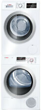 Bosch BOWADREW13 500 Series Stacked Washer   Ventless Dryer Set Front Load