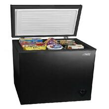 Compact Chest Freezer 5 Cu Ft Removable Storage Basket Home Commercial Kitchen