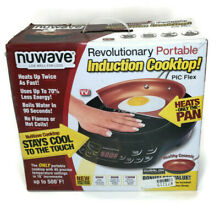 NuWave Precision Portable Induction Cooktop PIC Flex with 9  Ceramic Pan