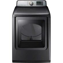 Samsung 7 4 cu  ft  Gas Dryer in Platinum  DVG50M7450P