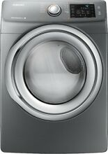 Samsung   7 5 Cu  Ft  11 Cycle Steam Gas Dryer   Platinum  DV42H5200GP