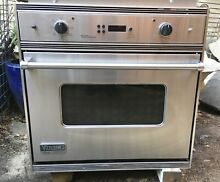 Viking stove oven with gas burners Veso105ss