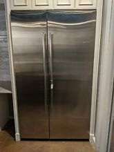 JennAir JS48NXFXDE 48 Inch Built In Side by Side Refrigerator in Stainless Steel