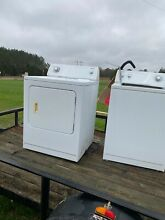 Admiral washer and electric dryer  Great condition works well