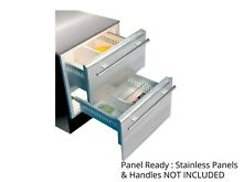 Sub Zero 700BF 27  Integrated All Freezer 700 Series Double Drawer Panel Ready