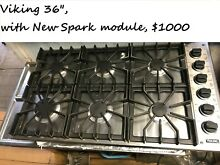 36  Viking Stainless Gas Cooktop  6 burners   in LA