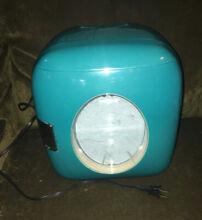 Portable Mini Fridge Thermoelectric Cooler Warmer Home   Car Travel Ice Box Blue
