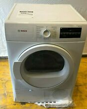 Bosch WTG86400UC 300 Series 24 Inch Electric Dryer Automatic Dry Programs