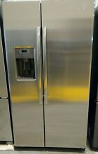 GE GZS22DSJKFSS 36  Counter Depth SideBySide Refrigerator Freeze Stainless Steel