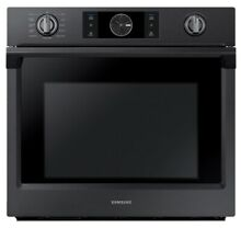FREE SHIPPING Samsung 30  Electric Flex Duo Dual Convection Oven Black Stainless