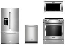 KitchenAid Kitchen Appliance Package Bundle Range Refrigerator Oven Tampa Bay