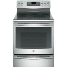 GE Profile PB930SLSS 30 in  5 3 cu  ft  Smart Electric Range Convection Oven