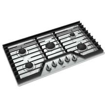 Whirlpool WCG55US6HS 36 in  Gas Cooktop 5 Burners EZ 2 LIFT Hinged Grates Tampa