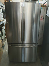 GE Profile PWE23KSKSS 36  Counter Depth French Door Refrigerator Stainless Steel
