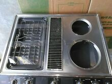 GE 30 inch Downdraft  Electric Cooktop Grill  12 month warranty   pick up KC MO