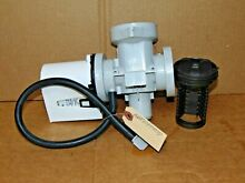 Genuine OEM LG Washer AHA72973337 Drain Pump Assembly With Filter Housing  SU1