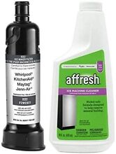 Whirlpool F2WC9I1 Water Filter ICE2   Affresh 4396808 Icemaker Cleaner OEM