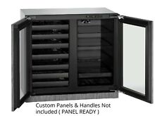 U Line U3036BVWCINT 3000 Series 36  Beverage Center   Wine Storage Panel Ready