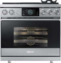 Dacor Modernist DOP36M94DPS 36  Smart Freestanding Dual Fuel Range Propane