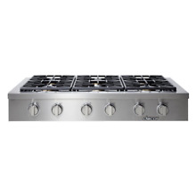 Dacor  48  Stainless Steel 6 Burner Liquid Propane Rangetop HRTP486SLP