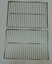 Vintage 1960s Frigidaire Flair Custom Imperial 2 Large Oven Racks Stove Parts