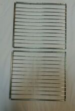 Vintage 1960s Frigidaire Flair Custom Imperial 2 Small Oven Racks Stove Parts