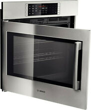 Bosch HBLP451LUC 30  Electric Wal Mounted Convection Oven Left Hinge Door Swing