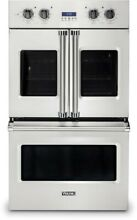 Viking VDOF7301SS 7 Series 30  French Door Double Wall Oven Vari Speed Convectio