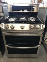 LG LDG4315ST 30  Double Oven Gas Range with ProBake Convection  Stainless Steel