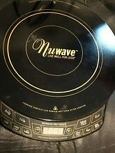 NUWAVE PRECISION INDUCTION COOKTOP GOLD  MODEL 30201